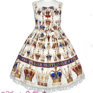 Angelic Pretty - 新品タグ付き British Crownシャーリングジャンパースカート