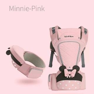 ディズニー(Disney)の新品♥ミニー ベビーキャリア 抱っこ紐(抱っこひも/おんぶひも)