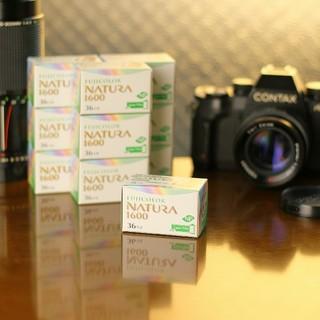フジフイルム(富士フイルム)の【10個】フジカラー NATURA 1600 富士フィルム ナチュラ 1600(フィルムカメラ)