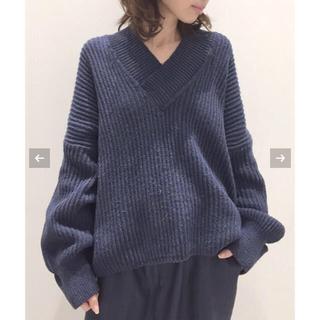 L'Appartement DEUXIEME CLASSE - 19日限定出品☆Twins Florence Denim V/N Knit