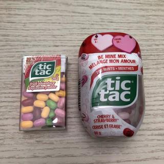 tictac cherry &strawberry フルーツアドベンチャー(菓子/デザート)
