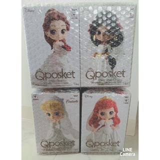 Disney - ディズニー・Qposketプリンセスウェディングセット*レア商品