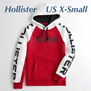 Hollister - 新品タグ付★ ホリスター カラーブロックロゴ フーディー