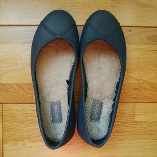 クロックス(crocs)のcrocs Oliviaフラット W5 21cm(ハイヒール/パンプス)