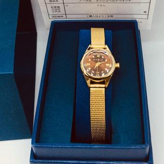 ノーブル(Noble)のショコ様専用 NOBLE ノーブル メッシュベルトウォッチANA機内販売限定商品(腕時計)