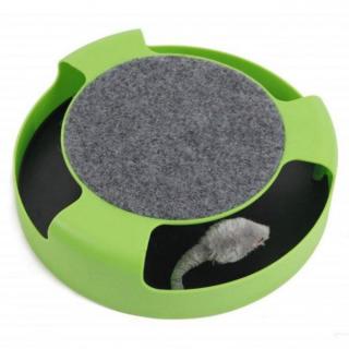ネズミが勢いよく回る♪ 91 猫 おもちゃ ネズミ ペット用品 運動不足 解消