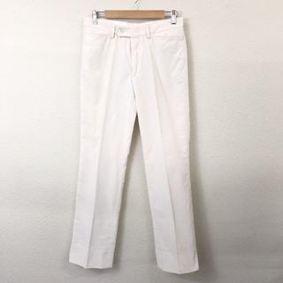 グッチ(Gucci)のGUCCI グッチ メンズ スラックス ホワイト サイズ:44 コットン(スラックス)