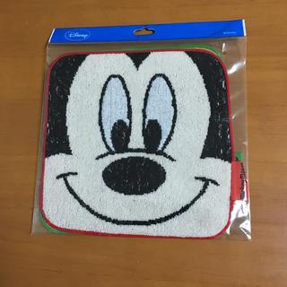 ディズニー(Disney)の新品 ミニタオル タオル ハンカチ ミッキー & プルート ハンドタオル 入学(その他)
