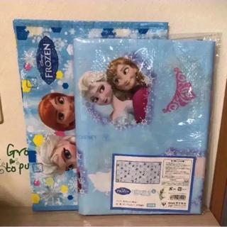 ディズニー(Disney)の②ヤクセル ディズニー アナと雪の女王レジャーシート(L)&レッスンバッグセット(バッグ/レッスンバッグ)