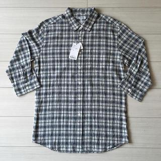 アーバンリサーチ(URBAN RESEARCH)の【新品タグ付き】アーバンリサーチ 日本製七分袖シャツ(シャツ)