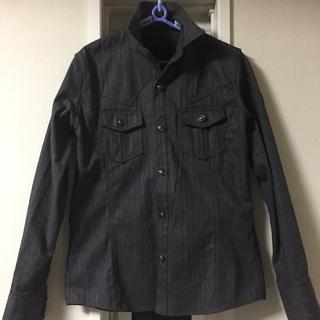 アトリエサブ(ATELIER SAB)のA.S.M  アトリエサブメン    デニム厚手シャツジャケット(シャツ)