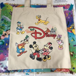 ディズニー(Disney)のディズニーリゾート限定 チームディズニー トートバッグ (トートバッグ)
