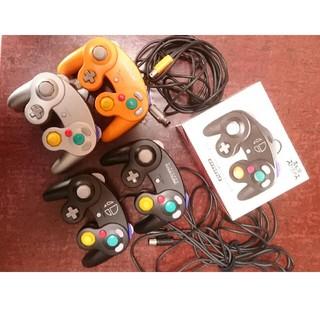 ニンテンドーゲームキューブ - 純正ゲームキューブコントローラ4個