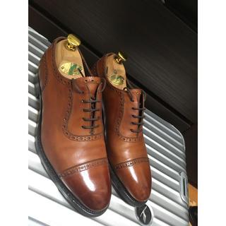 クロケットアンドジョーンズ(Crockett&Jones)の大塚製靴 パンチドキャップトゥ 6(ドレス/ビジネス)