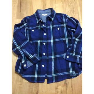 ジーユー(GU)の長袖シャツ  GU  110(Tシャツ/カットソー)