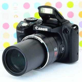 キヤノン(Canon)の✨WifiもOK✨可愛いカメラ✨CANON PowerShot SX500IS(コンパクトデジタルカメラ)