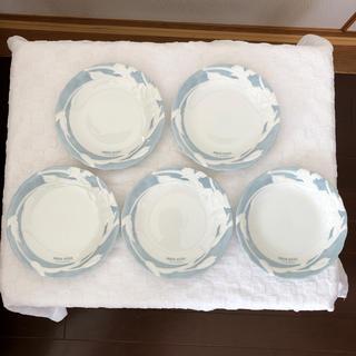 デビッドヒックス(David Hicks)のケーキ皿、デザート皿 デビッド ヒックス ロンドン 5枚セット(食器)