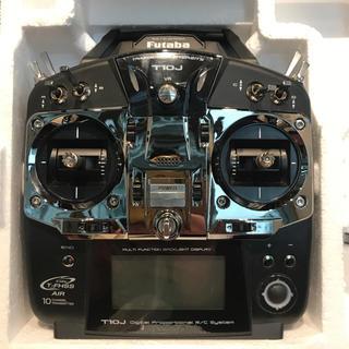 FUTABA フタバ 10J (10ch-2.4GHz )コントローラー 中古(ホビーラジコン)
