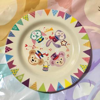 ダッフィー - ダッフィー フレンズ 35周年 スーベニア プレート お皿 未使用 ディズニー