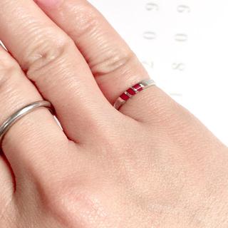 赤サンゴ? シルバー925  リング 指輪(リング(指輪))