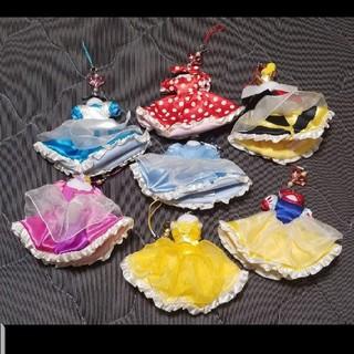 ディズニー(Disney)のディズニーリゾート限定販売 プリンセス ヴィランズ ドレス型 携帯クリーナー(キャラクターグッズ)