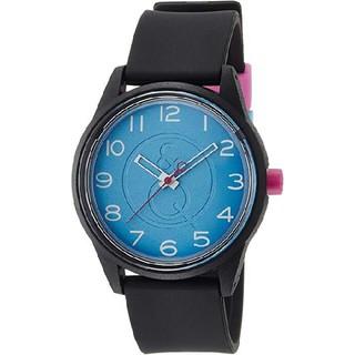 1949431851 シチズン(CITIZEN)のQ&Q SmileSolar 腕時計 アナログ ブルー × ブラック(腕時計)