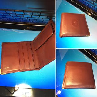 カルティエ(Cartier)の私物使用品  Cartier  マスト折ザイフ カード入れ有り(折り財布)