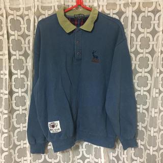 SPINNS - スウェット トレーナー ラガーシャツ