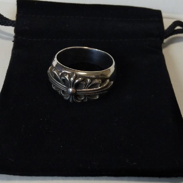Chrome Hearts(クロムハーツ)のフローラルクロス 28号 メンズのアクセサリー(リング(指輪))の商品写真