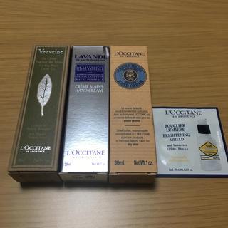 ロクシタン(L'OCCITANE)のロクシタン 3種 箱付き 未使用品(ハンドクリーム)