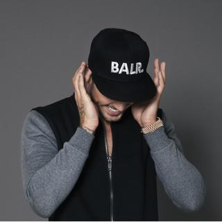 エフシーアールビー(F.C.R.B.)の在庫処分セール BALR./BRAND COTTON CAP BLACK(キャップ)