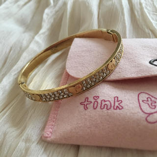 ティンクピンク(tinkpink)の90%以上オフ!ゴールドブレス(ブレスレット/バングル)