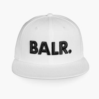エフシーアールビー(F.C.R.B.)の在庫処分セール BALR. /BRAND COTTON CAP WHITE(キャップ)
