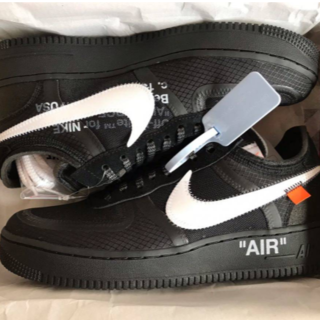 OFF-WHITE - NIKE AIR FORCE 1 LOW OFF-WHITE 27cm