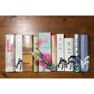 和ろうそく付きお線香10小箱セット(D)(お香/香炉)