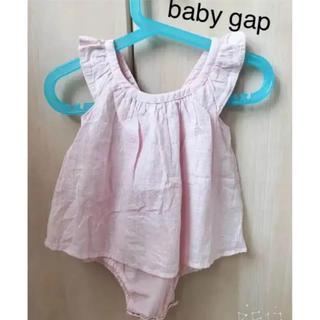 ベビーギャップ(babyGAP)の❣️【新品】baby gap ロンパース 80cm 女の子 ベビー (ロンパース)