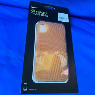 ナイキ(NIKE)の【新品】iPhone X ケース NIKE AIR FORE 1 ガムツリー(iPhoneケース)