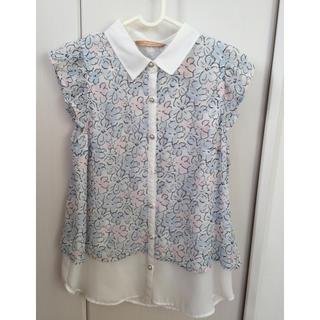 シマムラ(しまむら)のシャツ ブラウス 花柄 (シャツ/ブラウス(半袖/袖なし))