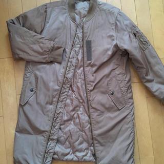 ジーユー(GU)のgu中綿ロングコート Sサイズ(ロングコート)