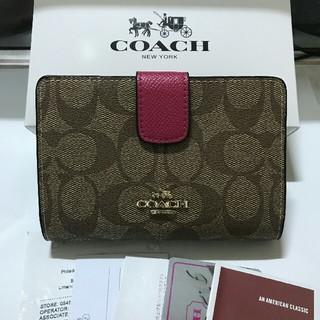 COACH - COACH 財布 (二つ折り財布) 53562