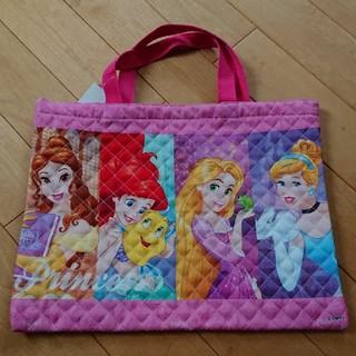 ディズニー(Disney)の新品 レッスンバッグ 手提げバッグ ディズニー プリンセス(レッスンバッグ)