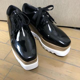ザラ(ZARA)の厚底フラットシューズ(ローファー/革靴)
