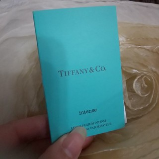 ティファニー(Tiffany & Co.)のちょこれーと 様用 TIFFANY 香水 オードパルファム サンプルボトル(香水(女性用))