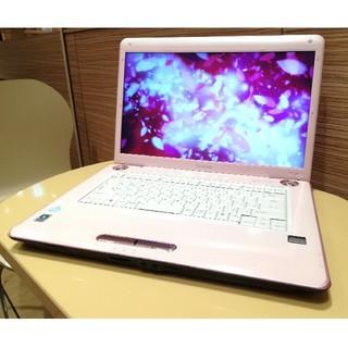東芝 - バッテリー新品!可愛いピンクのdynabook AX/53HPK DVD