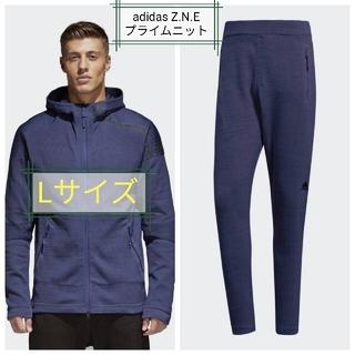 アディダス(adidas)の【新品】アディダス ZNE プライムニット スウェット上下セット、Lサイズ(スウェット)