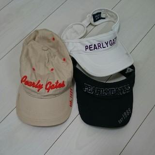 パーリーゲイツ(PEARLY GATES)のPEARLYGATES 帽子 ゴルフ(その他)