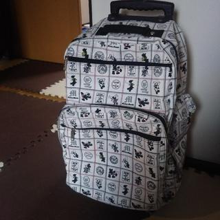 ディズニー(Disney)の美品☆ミッキー☆ミニー☆キャリーケース☆コロコロ(スーツケース/キャリーバッグ)