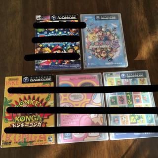 ニンテンドーゲームキューブ(ニンテンドーゲームキューブ)のマリオパーティ5(goo様専用)(家庭用ゲームソフト)