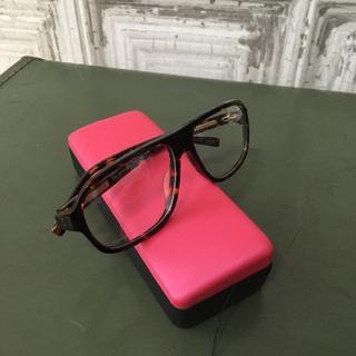 トラサルディ(Trussardi)のTRUSSARDI  トラサルディ 伊達メガネ USED(サングラス/メガネ)
