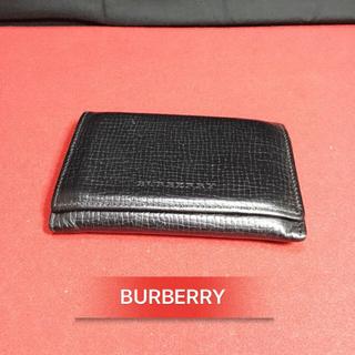 バーバリー(BURBERRY)の[もも様専用] バーバリー レザー カードケース(名刺入れ/定期入れ)